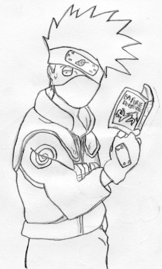 comment dessiner kakashi sensei